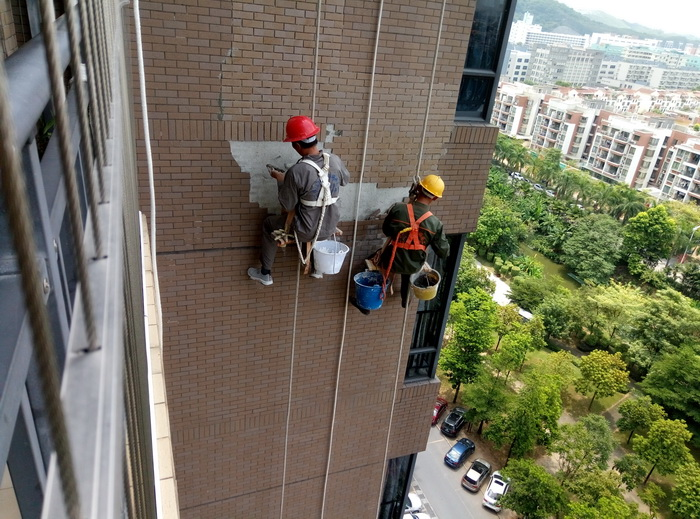 外墻瓷磚修復